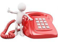 картинка человека с телефоном